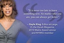 NYWICI Words of Wisdom / by New York Women in Communications