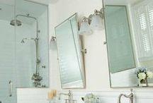 splish splash / bathrooms / by Sarah Rock
