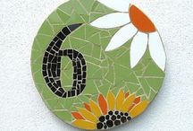 Mosaics 6 / Make your own mosaics with supplies from www.MosaicTileMania.com. Take 5% off your hand cut, stained glass mosaic tile prices with PromoCode PIN5 during checkout.  / by Mosaic Tile Mania