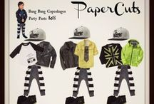 PaperCuts / Easing the Pain of Keeping Your Kids in Style! Signature Items from Designers You Love, Styled with Less!  / by POP Street Kidz