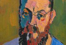 Art History / Impressionism, Post Impressionism, Expressionism that I like.  / by Ellen King
