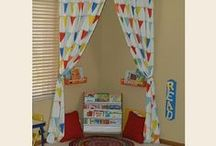 Kids Places & Spaces / Kids rooms, play areas, reading spaces, homework spaces, etc. / by Jennifer Jones