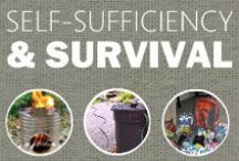 || Self-Sufficiency & Modern Survival || / #survival #beprepared #self-sufficiency #homesteading #emergency #self-reliance #offthegrid #solar #diy #free #cheap #frugal #zombieapocalypes / by Weed 'em & Reap Backyard Farming & Health