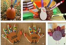 Thanksgiving preschool / by Tina Roe