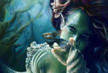 Mermaids / by Amy Bounou