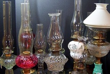 the pioneer way...OIL LAMPS / a collection of oil lamps / by Shirley Simpson