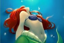 ARIEL (the little mermaid)  / by Amy Bounou