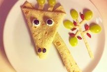 Food Art for Kids / A collection of fun food ideas for entertaining, snacks, parties and lunches for kids and grown ups, too. / by TruKid: All Natural Skin Care for Kids