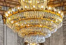 Chandeliers / by Patricia Edsall Hartley