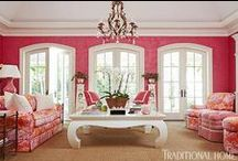 Pink Home Decor / by Patricia Edsall Hartley