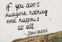 The wonderful John Green / by Carlee Binger