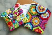 crochet: bags, covers, etc/ free  / by Amy Woods