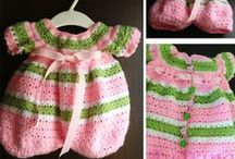 crochet: baby & child clothing/ free  / by Amy Woods