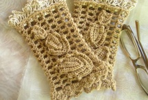 crochet: gloves, boot cuffs & legwarmers/ free / by Amy Woods