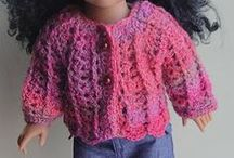 crochet: doll clothes/ free / by Amy Woods