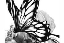 Art / Cool artwork. Art from around the web.  Black and white art. Art decor.  / by Megan Russell