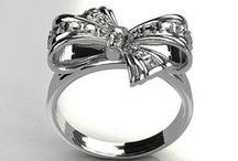 Rings / Rings that I like. Engagement rings. Anniversary rings. Diamond rings. Silver rings. Decorative rings. Vintage rings. Antique rings.  / by Megan Russell