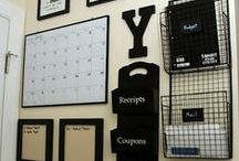 Organizational Help / Help for the organizationally challenged. Organizing tips. Organizing ideas.  / by Megan Russell