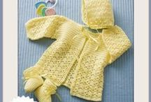 crochet: baby & child clothing/ free #3 / by Amy Woods