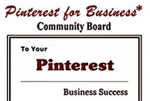 "Pinterest For Business* / Welcome to the group board ""Pinterest for Business."" ~ This board has a wide assortment of pins for using Pinterest to help grow your business. Please pin only those pins that are relevant to Pinterest for Business. ~ If you would like an invitation to pin on this board leave a comment on the cover photo and I will add you. / by Produce Your First Website"