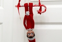 Holidays: Christmas: Elf on the Shelf / Honestly, I think the Elf on the Shelf is pretty creepy, but it's a fun tradition. Check out my other holiday boards for more inspiration. / by Meghan Karson