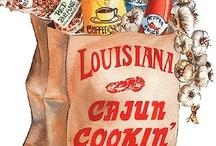 Louisiana Cajun Cooking / by Cynde Devona Sonnier