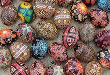 Crafts: Pysanka Egg Designs / by Ann Leete