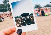 ♫ Garage Music Festival Blogger Tour ♫ / We're teaming up with your fave bloggers for a music festival tour this summer: Coachella, Sasquatch!, Bonnaroo, Osheaga & Outside Lands. Thanks to Fujifilm for providing #Instax Mini 8 instant cameras! / by Garage