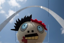 Now with More Zombie / All things zombie. The little zombie head you see pop up here a lot - that's my Think Geek Dismember Me Zombie that travels with my husband. He's slowly but surely making his way around the world. / by Jennifer Benn