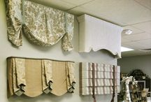 Window Treatments VALANCES, CORMACES AND TOP TREATMENTS / Custom Valances, Cornices & Top Treatments / by Danielle Anderson
