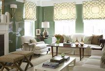 Window Treatments ROMAN SHADES / Custom Classic Roman Soft Shade design ideas / by Danielle Anderson