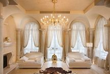 Window Treatments ARCHED / Custom window treatments for arched windows. / by Danielle Anderson