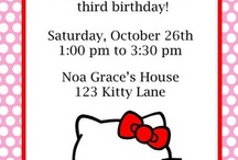 Birthday Ideas for Grace / by Liz Fahlstedt