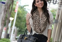 Leopard scarves / by The Chic Orchid
