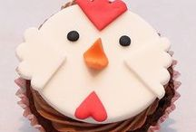 Fun with Fondant and Frosting / Cake and cupcake decorating / by Kari Corbett
