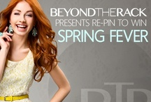 Re-Pin to Win Spring Fever / Re-Pin to win! BTR presents Spring Fever! You could win a $500 BTR shopping spree to get your dream look. New pins added daily. Contest ends April 21, 2013. For more details please visit http://goo.gl/hIcbe / by Beyond the Rack