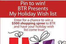 My Holiday Wish List / The holidays are all about giving but we know you're coveting a few things for yourself! Enter for a chance to win a $500 shopping spree to BTR and have your holiday wish list come true! New pins added daily Contest ends Dec 24th 2013. For more details please visit: http://goo.gl/ByJEZm   / by Beyond the Rack
