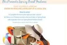 Spring Break Madness / Follow us and Pin what you'd pack in your bag for spring break from this board / by Beyond the Rack