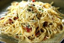 Pasta Recipes / by Ryan Sammy