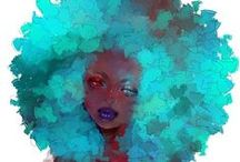 Me and my Curly World! / by Chanin Burrell