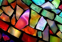MOSAICS  &  STAINEDGLASS / by Amy Williams