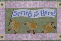 Easter and Spring Patterns at KayeWood.com / by KayeWood.com
