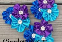 Blue Dendrobium Orchids/Peacock Wedding Inspirations / Ideas using the flower that incorporates our wedding colors with some peacock inspiration / by Molly Teter