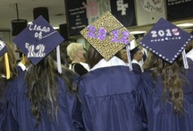 Graduation Cap Ideas / Want to stand out in a sea of students all wearing the same thing? Add some style to your cap and tell the world you're ready for anything! / by ScholarshipExperts.com