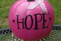 Think Pink! / October is Breast Cancer Awareness Month. Show your support and help spread awareness with these clever ideas. / by ScholarshipExperts.com