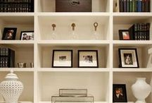 Bookshelf Styling / by Pam Tobias