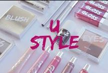 Bershka is...USTYLE / Hair and beauty trends, ideas and style. #BershkaUStyle / by Bershka
