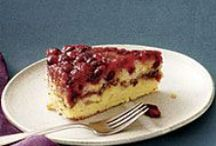 Food Stuffs - Sweets - Cakes, Pies, Etc. / Dessert recipes for cakes, pies, tarts etc. / by Kit White