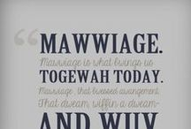 Mawwage 2015! / Things to consider in 2015 for our wedding / by Stefanie Salvo