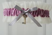 Purple Wedding Garter + Things to Match / Look closely for the prettiest purple wedding garter you have ever seen.  / by LaGartierWeddingGarters